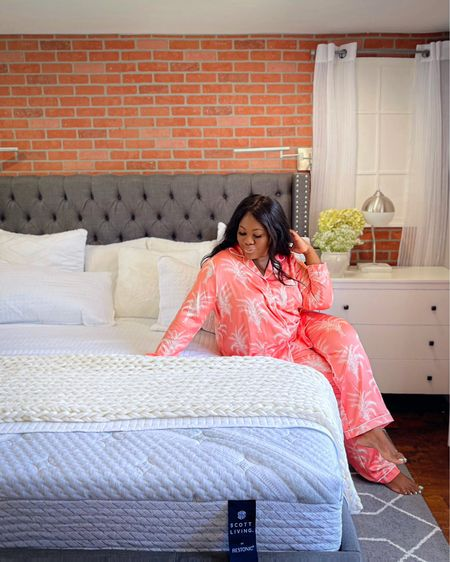 I'm obsessed with this pj set and I actually have worn it out to brunch. Are you into the luxe loungewear trend ? http://liketk.it/3jPiD #liketkit @liketoknow.it #LTKhome