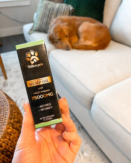 Shay has bad anxiety - barks every time I leave the house & at neighbors & other dogs. She also has itchy skin in Texas. This hemp oil on Amazon has helped tremendously with all 3 issues. The problems aren't gone completely, but there's a noticeable difference. HIGHLY RECOMMEND this oil. It has over 10k reviews & only $19.  http://liketk.it/36WjK #liketkit @liketoknow.it #LTKhome #LTKfamily #LTKunder50