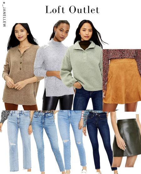 Start your Black Friday shopping now with up to 40% off + FREE shipping after $99. Use code: FALLFUN. Sale ends 10/28. #loft #sweaters #skirts #leather #suede #jeans #denim #distressed #outlet  #LTKSeasonal #LTKsalealert #LTKGiftGuide