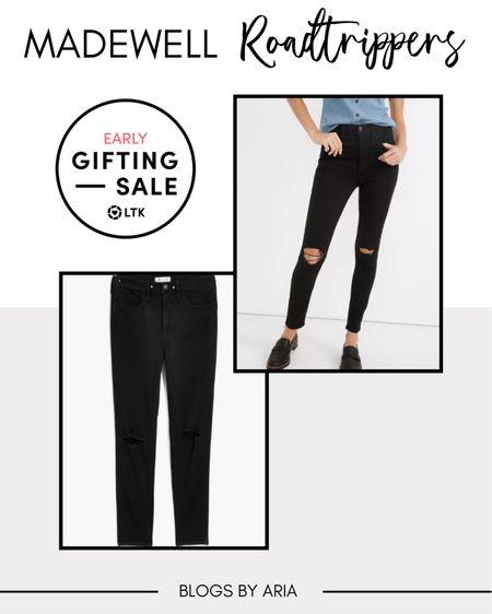 Madewell roadtripper jeans on sale  Fall fashion  Fall style   #LTKstyletip #LTKSale #LTKsalealert
