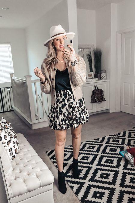 Loving this affordable Fall outfit ❤️ Target cardigan, Walmart tank and amazon skirt! Small cardi M tank   http://liketk.it/2Yrwv #liketkit @liketoknow.it #LTKsalealert #LTKunder50 #LTKstyletip