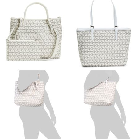 $79.99 Coated canvas bags and wallet that remind me of Goyard but they are from the Lancaster Paris Ikon line. I ordered the one on the left. @liketoknow.it http://liketk.it/364e0  #liketkit #LTKunder100 #LTKitbag