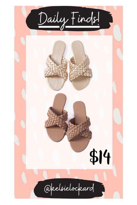 Braided sandals, sandals under $15 on Amazon! Gold sandals, brown sandals, nude sandals, designer look for less, amazon finds, affordable sandals, affordable shoes, summer sandals   #LTKshoecrush #LTKunder50 #LTKstyletip