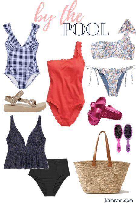 #liketkit @liketoknow.it http://liketk.it/3hiBq women's swimsuits  Women's one piece swimsuits Birkenstock's  Poop bag