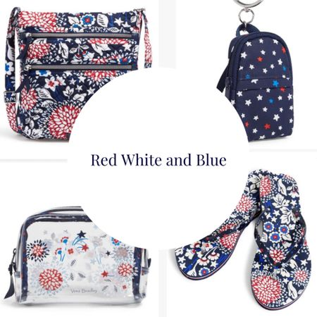 Patriotic is always in style Red white blue Vera Bradley Stars and Stripes  #LTKSeasonal #LTKstyletip #LTKsalealert
