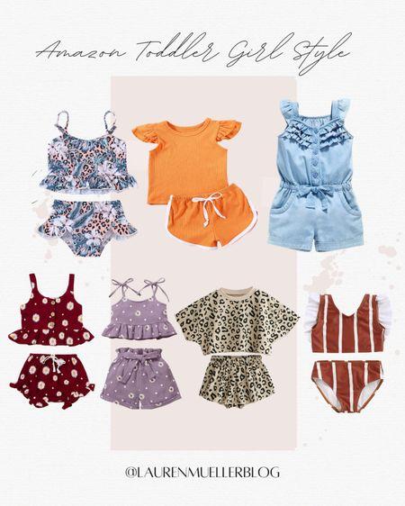 Amazon Toddler Girl Fashion // toddler girl style // little girl deals // toddler girl swim sales // http://liketk.it/3d7tk #liketkit @liketoknow.it