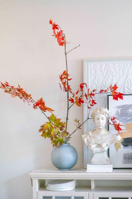 Vases, bust, frames, wall art, fall decor, fall kitchen, fall dining   #LTKHoliday #LTKhome #LTKSeasonal