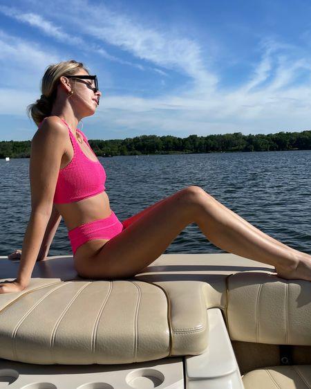 The cutest pink bikini for summer! @liketoknow.it http://liketk.it/3gWmR #liketkit #LTKswim #LTKunder100 #LTKstyletip