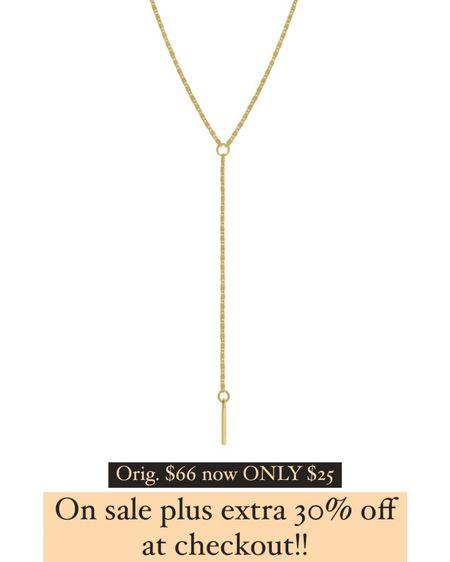 Gold necklace on sale! Cartier & David Truman dupe bracelets extra 30% code LTK30   http://liketk.it/3hjpI #liketkit @liketoknow.it #LTKunder50 #LTKDay #LTKsalealert #laurabeverlin