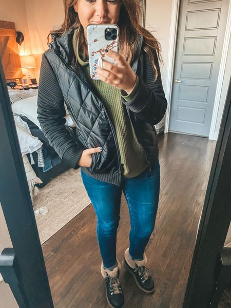 This is another awesome Walmart find that WILL SELL OUT!! Run!!! The jacket runs TTS but if you're between def size up!    #LTKsalealert #LTKunder50 #LTKstyletip