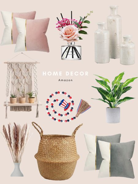 Home decor  Best sellers  Amazon finds http://liketk.it/3hydH #liketkit @liketoknow.it #LTKhome #LTKunder50 #LTKfamily @liketoknow.it.home @liketoknow.it.family Shop your screenshot of this pic with the LIKEtoKNOW.it shopping app           4th of July  Pampas  Throw pillows Boho decor  Macrame  Plants