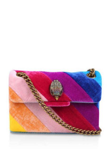 Omg! I'm dying!!! This velvet rainbow bag is everything I need   #LTKworkwear #LTKeurope #LTKitbag