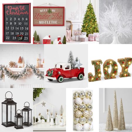 Holiday home decor is here! So many fun winter and Christmas decorations like wall signs, pre lit tree and garland, lanterns, decorative accents, and more. Many under $50.   #LTKunder50 #LTKHoliday #LTKGiftGuide