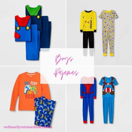Boys Pajamas from Target  #LTKunder100 #LTKkids #LTKbacktoschool