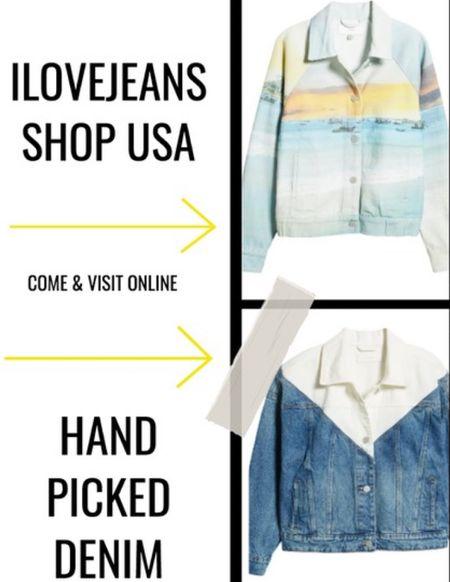 Statement denim Jackets, denim jackets , patchwork denim jacket, photo denim jacket,   Shop I Love Jeans Denim Shop for hand picked denim.    #LTKstyletip #LTKeurope