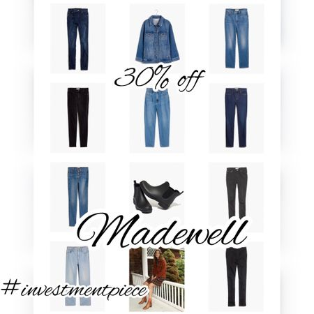 Get 30% off sale styles @madewell with code CHEERS (these jeans and boots are perfect for fall!) #investmentpiece   #LTKSeasonal #LTKsalealert #LTKstyletip