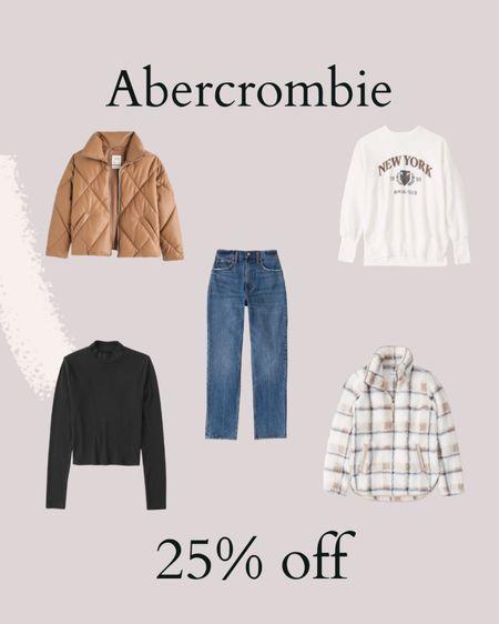 Abercrombie is an extra 25% off for the LTK Sale!   #LTKunder50 #LTKsalealert #LTKSale