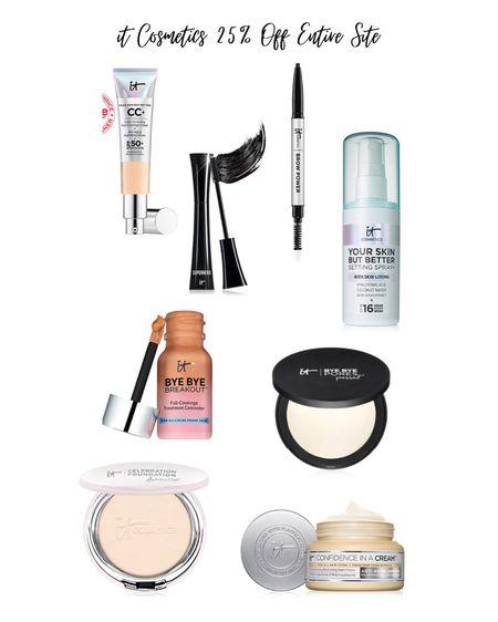 All my favorite it Cosmetics products! Entire site is 25% off!   #LTKunder50 #LTKSale #LTKbeauty