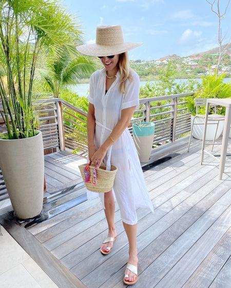 Beach vacation, swim, straw hat, straw bag @liketoknow.it http://liketk.it/3hOh7 #liketkit #LTKswim #LTKtravel