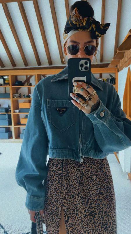 the Prada jacket of dreams #denim #prada