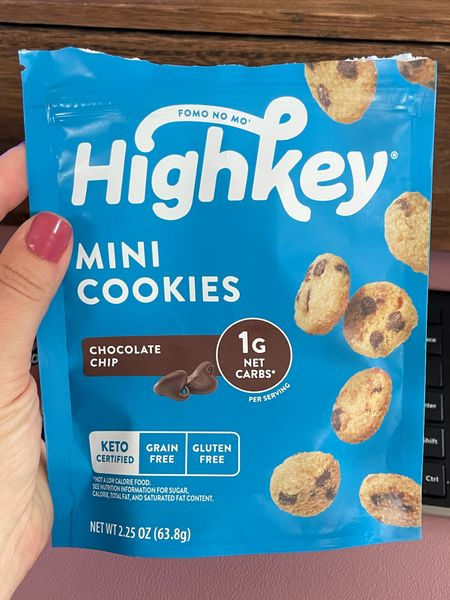 Keto cookies from Amazon that you can't help but eat the whole bag! Olive and June nail color LD  #LTKhome #LTKbeauty #LTKfit