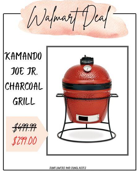 Walmart Finds - Kamando Joe Jr. Charcoal Grill  #LTKhome #LTKsalealert