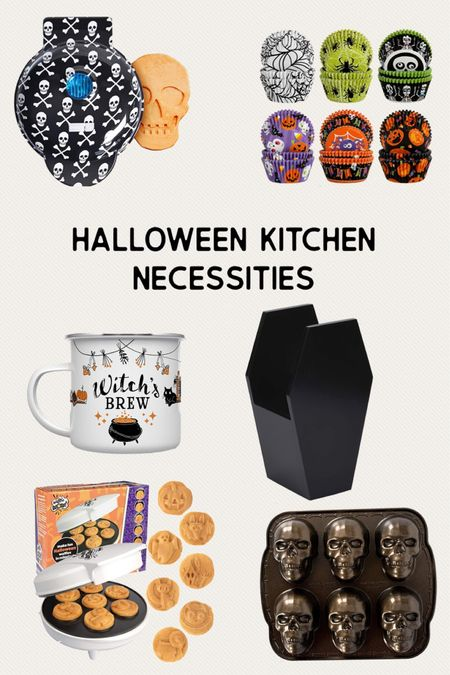 All the Halloween kitchen basics you need to make cooking more festive for the holiday   #LTKHoliday #LTKhome #LTKSeasonal