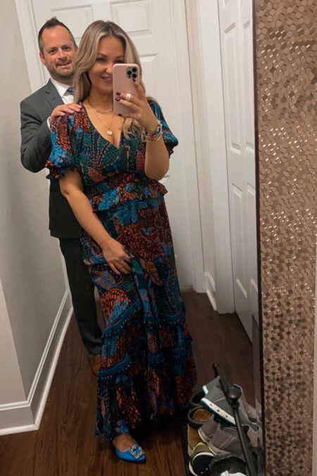 Farm Rio dress size medium. Manolo blahnik size 37 tts    #LTKstyletip #LTKwedding #LTKshoecrush