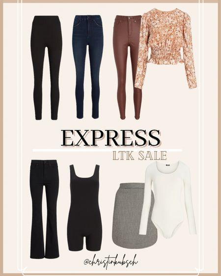 Express finds for the LTK sale!  Use code: 8206 for $10 off $100  #LTKSale #LTKunder100 #LTKsalealert