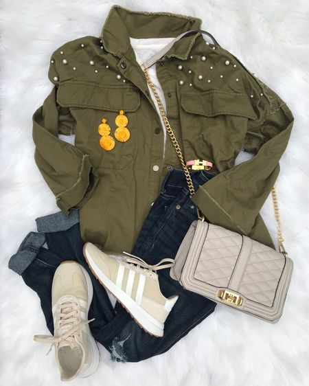 Weekend wear! 💚 Finally feels like fall in NC & I'm loving every minute! This fabulous oversized military jacket is on sale for $23 & you can get an extra 20% off any order with code Bagley20! Shop the entire look by searching my insta name (lawrenbagley) in the @liketoknow.it app, or by typing this exact link in your browser: http://liketk.it/2xKyZ  #liketkit #LTKunder100 #LTKstyletip #LTKunder50 #LTKshoecrush #LTKitbag