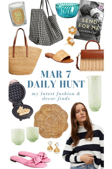 A small sampling of my March 7 finds! Explore them all on the Daily Hunt page of KatieConsiders.com #liketkit @liketoknow.it http://liketk.it/39Vem
