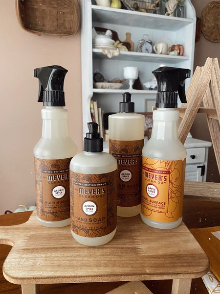 My favorite Mrs. Meyer's cleaning products! Fall home + fall cleaning  #LTKSeasonal #LTKhome #LTKsalealert