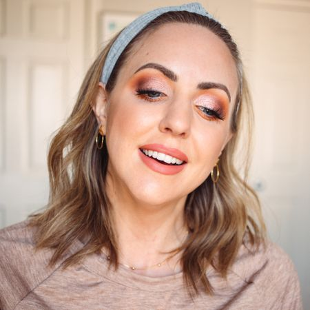 Warm pinky neutral eyeshadow look with the most amazing Juvia's Place palette! Palette and brush set linked, also my lip color (shade: spice) http://liketk.it/36m47 #liketkit @liketoknow.it