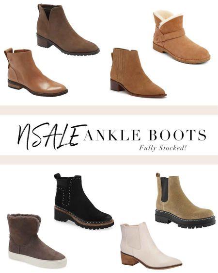 Scoured the Nordstrom Anniversary Sale for the best ankle boots that are still fully stocked, and a good value. http://liketk.it/3kVVe #liketkit @liketoknow.it #LTKunder50 #LTKshoecrush #LTKsalealert #nsale