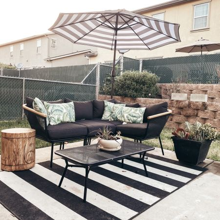 Outdoor patio furniture! So so comfy & you won't regret it! http://liketk.it/2NNWO #liketkit @liketoknow.it #outdoorfurniture #homedecor #patiodecor #modernfurniture #target #amazon