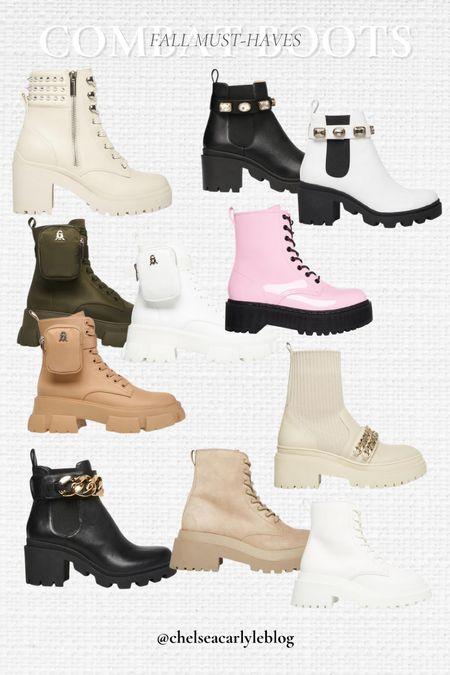 Boot season is right around the corner! Shop combat boots and Chelsea boots from my go-to boot brand!  #stevemadden #boots #combatboots  #LTKSeasonal #LTKbacktoschool #LTKshoecrush
