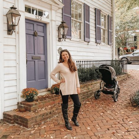 Old navy always has a sale going on & these sweater tunics & pants are my go to for fall!  ••••••• 20% off with CODE: SWEET ••••••• @oldnavy #sweaterweather #momstyle #falloutfit http://liketk.it/2ZPxn #liketkit @liketoknow.it #LTKstyletip #LTKsalealert #LTKunder50