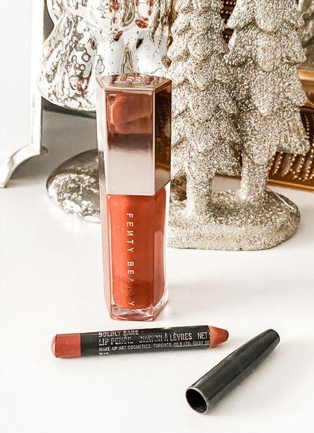 Much loved (clearly) everyday lip combo! Mac Boldly Bare lip pencil + Fenty Beauty Gloss Bomb in Fenty Glow! ✨  #LTKunder50 #LTKbeauty #LTKstyletip
