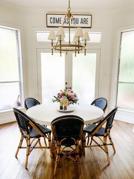 Loving my new kitchen table setup   #LTKfamily #LTKhome #LTKstyletip