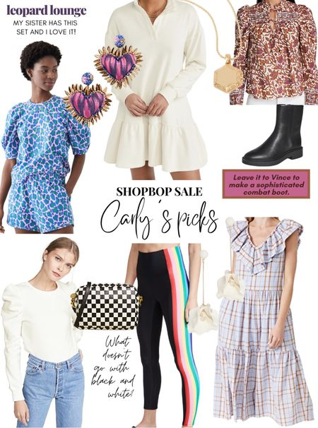 I would be ecstatic if one of everything in this collage ended up in my closet! Wouldn't you?! And guess what, it's all on SALE! Shopbop has a tiered sale going on, use the code STYLE.  #shopbopsale #shopbop  #LTKsalealert #LTKstyletip #LTKshoecrush