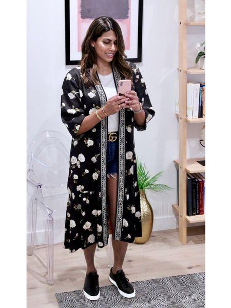 http://liketk.it/2RqwZ #liketkit @liketoknow.it Kimono Style Summer