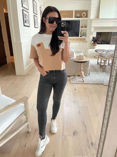 Amazon finds Amazon fashion  Casual top Sunglasses Sneakers only $60    #LTKunder50