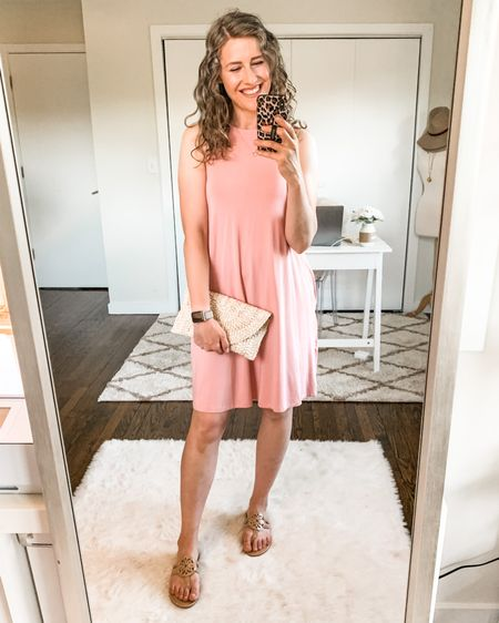 The best $10 dress you'll ever own! Fits tts, wearing a small. Pockets! Stretchy and flowy. http://liketk.it/3hBit #liketkit @liketoknow.it #LTKunder50 #LTKstyletip #walmartfashion