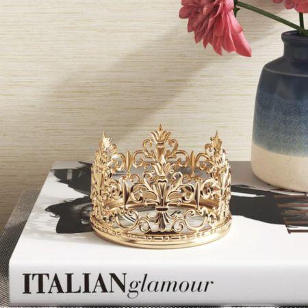 Crown decor #LTKhome #LTKunder50 #LTKunder100 #liketkit http://liketk.it/3fFPX @liketoknow.it