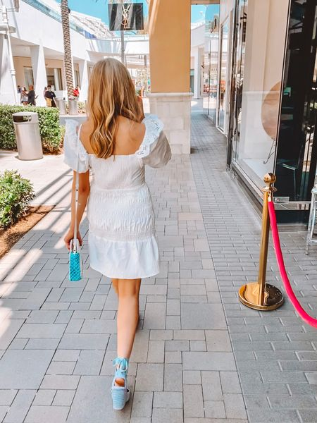 Soaking up these last days of summer while it's still appropriate to wear white 🤗 Dress is an XS but runs slightly large so I would recommend sizing down. 😊 #summeroutfit #whitedress #dresses   #LTKSeasonal #LTKtravel #LTKfit