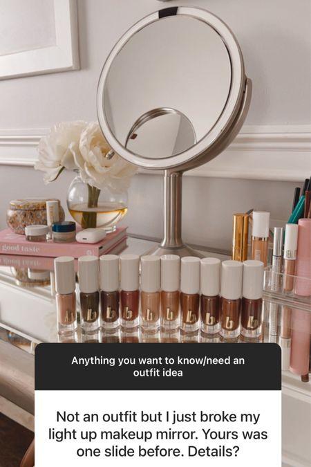 Makeup mirror. One is included in NSale!   #LTKbeauty #LTKhome #LTKsalealert