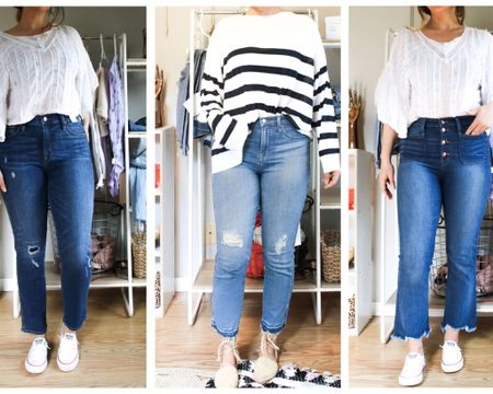 Three of my fav @jcrew jeans atm! http://liketk.it/2BxO5 #liketkit @liketoknow.it #LTKunder100 #LTKunder50 #LTKstyletip #LTKtravel #LTKspring #LTKsalealert