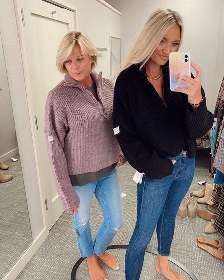 Pullover part of the #Nsale mom wearing a large and I'm wearing a medium http://liketk.it/3jS3V @liketoknow.it #liketkit #LTKsalealert #LTKunder50
