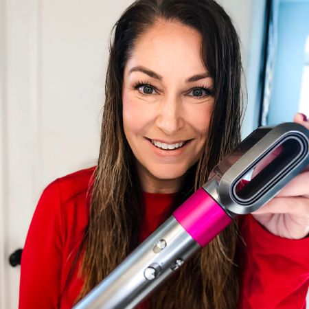The number one request I get is how do o curl my hair?! I decided to finally let you in on how I use my Dyson Airwrap and GHD curling iron (just for a few extra curls at the end) on long, thick hair! 👉🏻 Head to my IG tv to see the full video! #dysonairwrap #longhair #beachwaves #hairgoals #ghdcurlingiron #curlingiron #Dysonhairdryer http://liketk.it/2G639 #liketkit @liketoknow.it #LTKbeauty