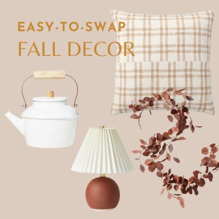 Easy to swap decorating details that'll have your home feeling cozy for fall in no time   #LTKHoliday #LTKunder50 #LTKhome